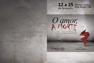 Folder da 8ª Mostra O Amor, a Morte e as Paixões